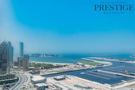 شقة 3 غرف نوم للايجار في دبي مارينا، دبي - Fully  Upgraded High Floor Fully Firnished 2 Parking