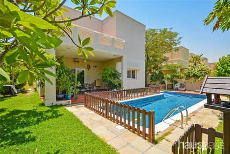 4 Bedroom Villa for Sale in The Meadows, Dubai - Pool | Skyline View | Lake Backing | VOT