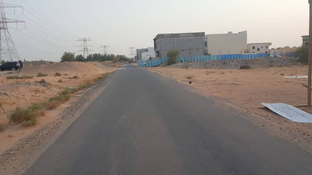 Lands for sale in Ajman Jasmine at low prices and in installments