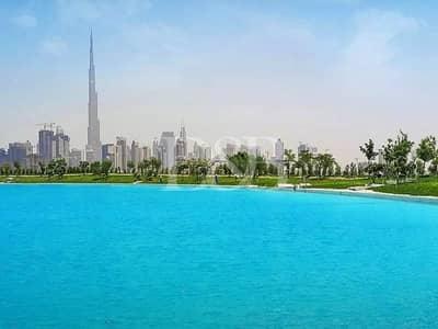 Plot for Sale in Mohammad Bin Rashid City, Dubai - Build Your Own Home | Crystal Lagoon Water Facing
