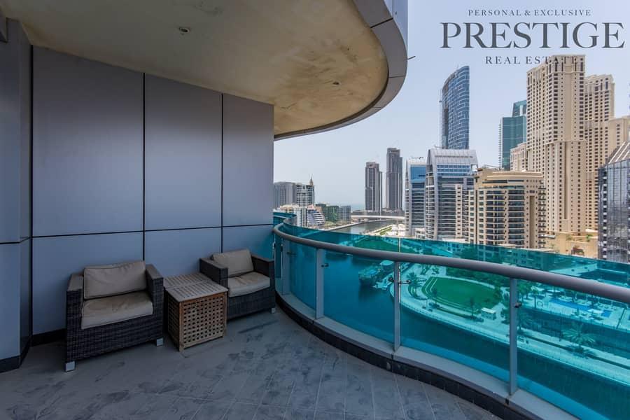 2 Bedroom | Orra Marina | Furnished | Marina View