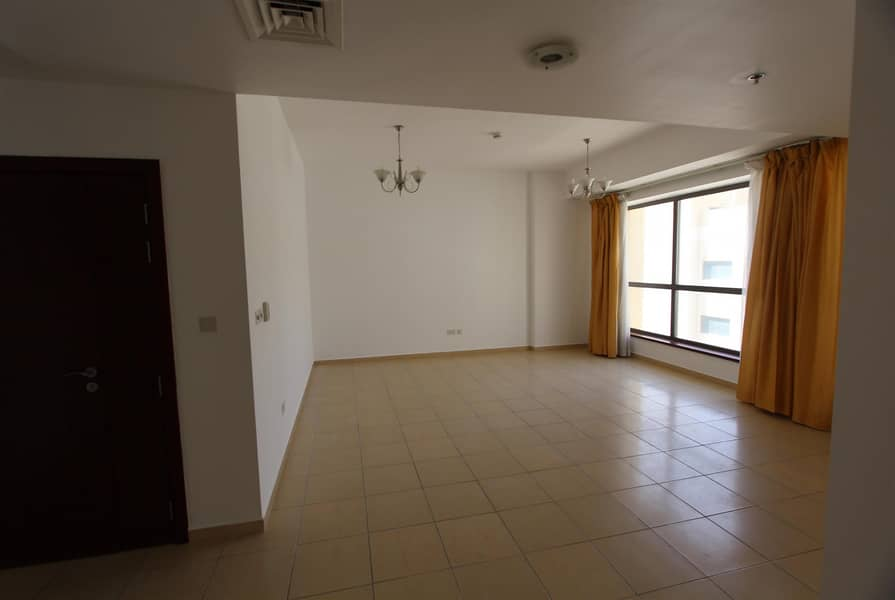 2 2BR Unfurnished | Partial Sea & Marina View|Vacant