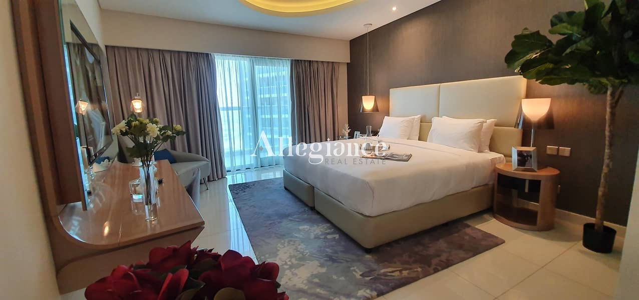5 min to Business Bay Metro | Furnished | Move-in