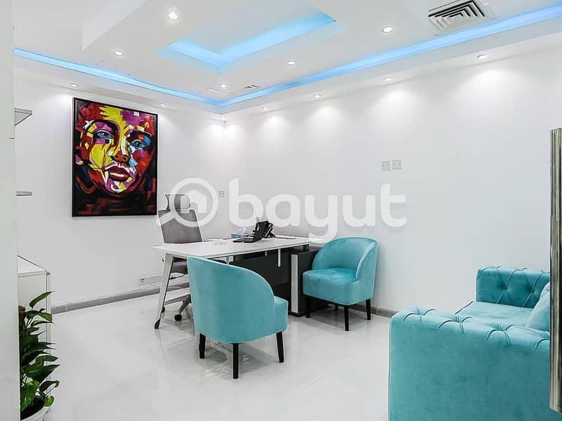 Office For Rent In Dubai| AED 20000 | Al Musalla Tower