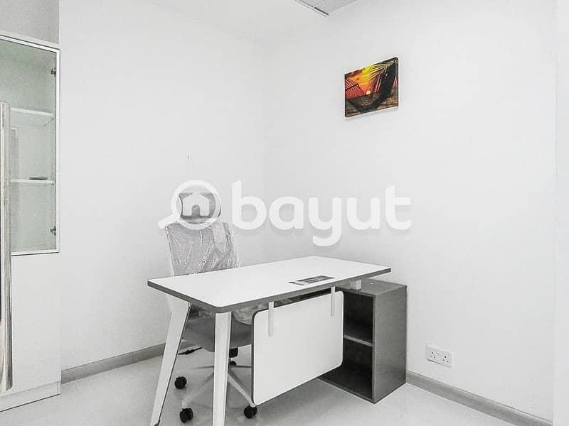 10 Office For Rent In Dubai| AED 20000 | Al Musalla Tower