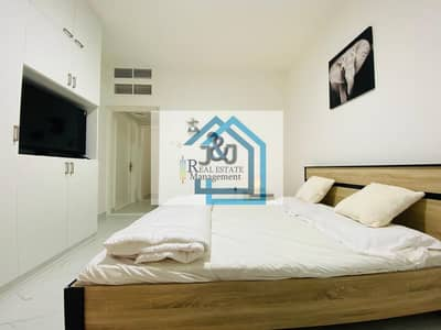 Studio for Rent in Al Khalidiyah, Abu Dhabi - Hot Deal !!! Studio Furnished Water and Electricity Including Monthly Corniche Khalidiyah