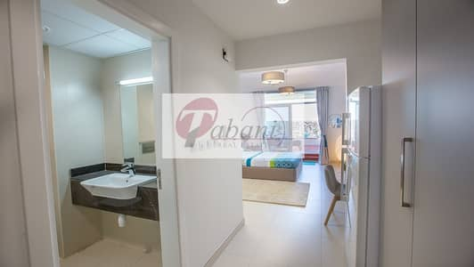 Studio for Rent in Al Furjan, Dubai - Spacious Magnificent Finishing Fully Furnished
