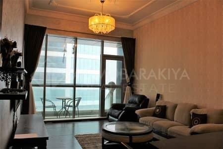 2 Bedroom Flat for Rent in Dafan Al Nakheel, Ras Al Khaimah - Stunning Sea View 2 BR Furnished-Julfar