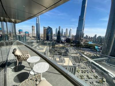 فلیٹ 2 غرفة نوم للايجار في وسط مدينة دبي، دبي - HIGH FLOOR  | 2 BED | BEST DEAL  | BURJ VIEW