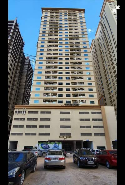 2 Bedroom Flat for Rent in Emirates City, Ajman - With Parking 2 bhk for rent in Lake Tower C4.20000                     1410 SQ FT