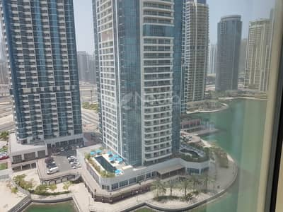 2 Bedroom Flat for Rent in Jumeirah Lake Towers (JLT), Dubai - 2BR + Laundry | Icon Tower 1 | Lake View