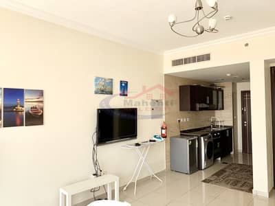 Studio for Rent in Arjan, Dubai - High Floor Furnished Studio