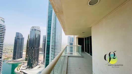 فلیٹ 3 غرف نوم للايجار في أبراج بحيرات الجميرا، دبي - Next to metro; Superb views! Large and spacious layout