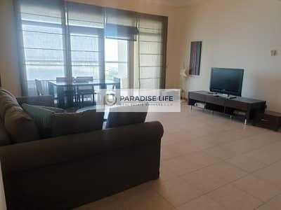 فلیٹ 1 غرفة نوم للايجار في نخلة جميرا، دبي - Stunning Sea View One Bedroom Furnished with Beach Access