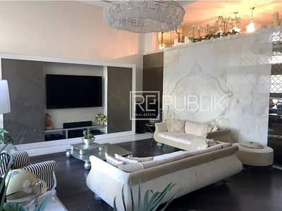 4 Bedroom Townhouse for Sale in Al Raha Beach, Abu Dhabi - Impeccable Highly Upgraded Full Sea View Townhouse