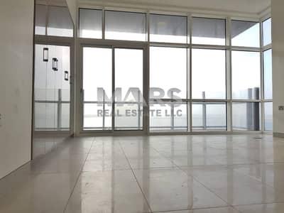 شقة 4 غرف نوم للايجار في شاطئ الراحة، أبوظبي - Stunning Sea View Apartment
