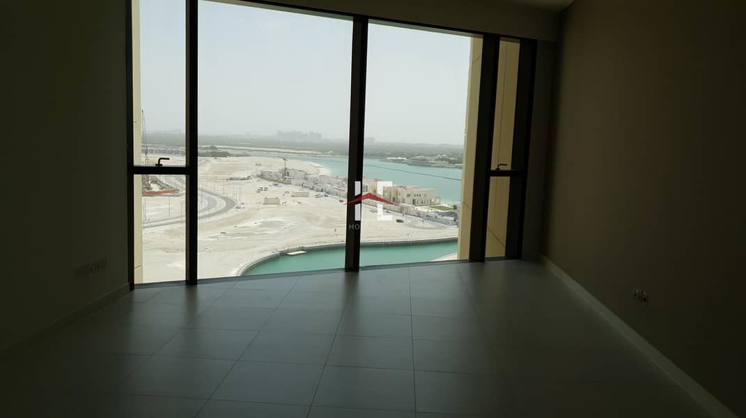 Beautiful Canal view with 1 BHK   Chic Kitchen with built-in  Appliances