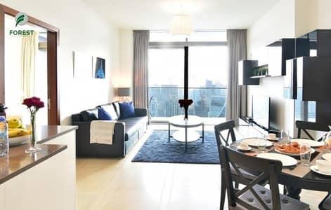 فلیٹ 1 غرفة نوم للبيع في دبي مارينا، دبي - Fully Furnished   1BR   High floor   Marina View