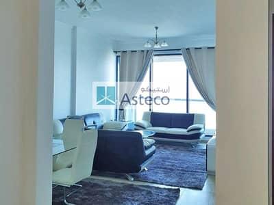 فلیٹ 1 غرفة نوم للايجار في أبراج بحيرات الجميرا، دبي - Fully Furnished Huge 1Bed | Full Golf course view