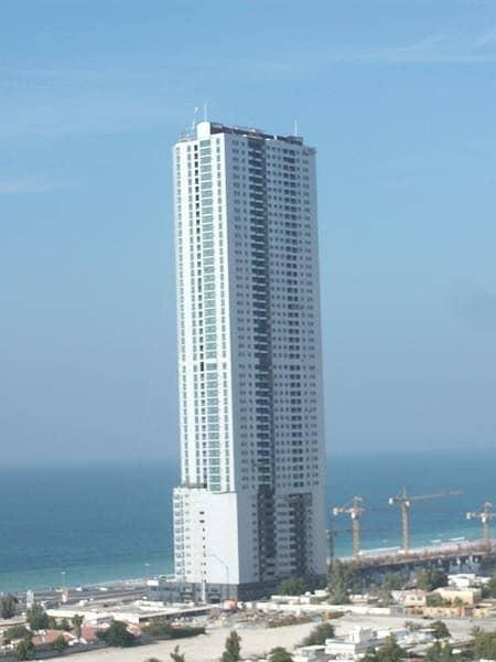 شقة في برج الكورنيش كورنيش عجمان 2 غرف 45000 درهم - 4690522