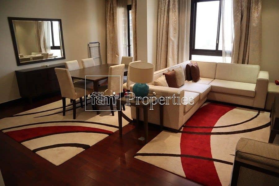 Huge 2 bedroom | Burj Al Arab View | Furnished