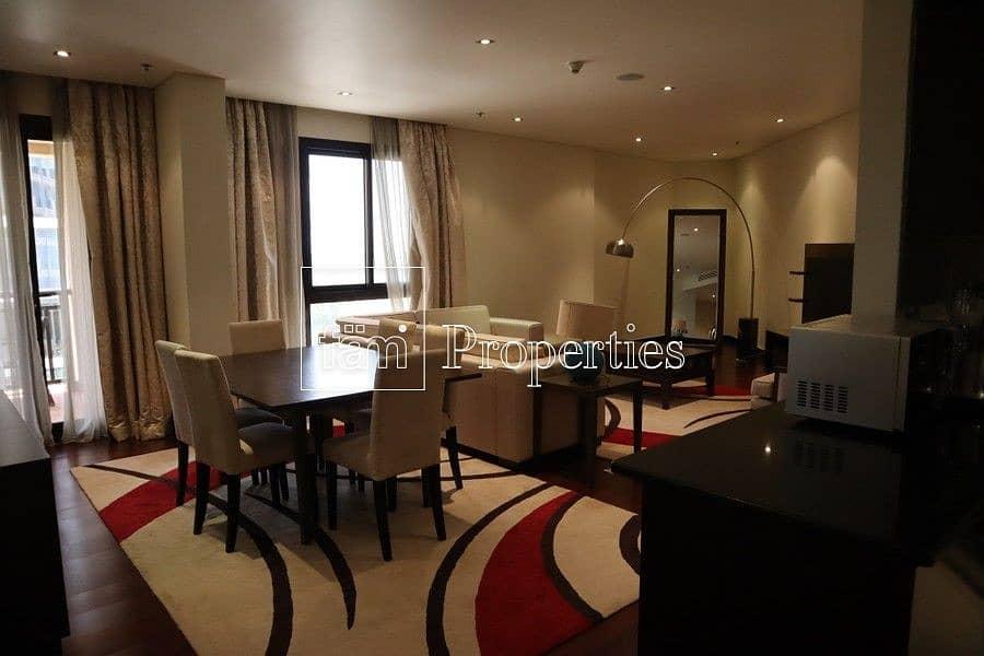 16 Huge 2 bedroom | Burj Al Arab View | Furnished