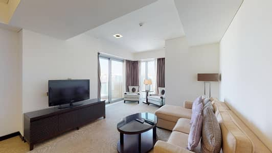 2 Bedroom Hotel Apartment for Rent in Dubai Marina, Dubai - Water views | Built-in kitchen appliances | Contactless tours