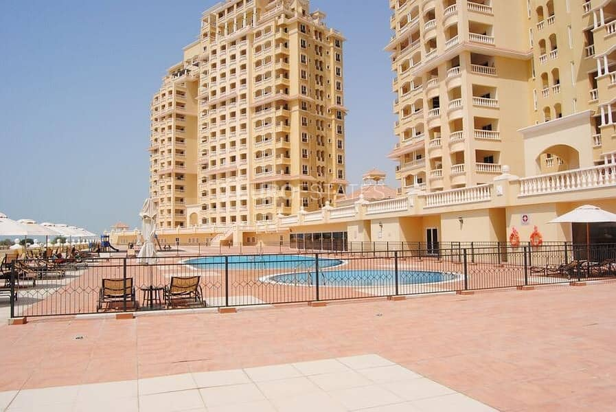 2BR Beachfront Apartment in Royal Breeze Residence