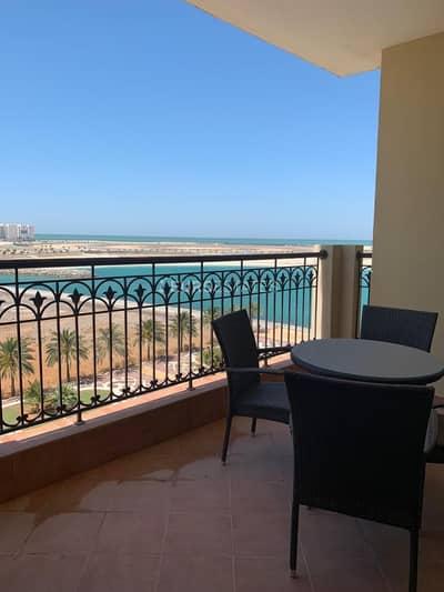 1 Bedroom Hotel Apartment for Rent in Al Marjan Island, Ras Al Khaimah - Open Sea View | 1BR Hotel Apartment Al Marjan Resort