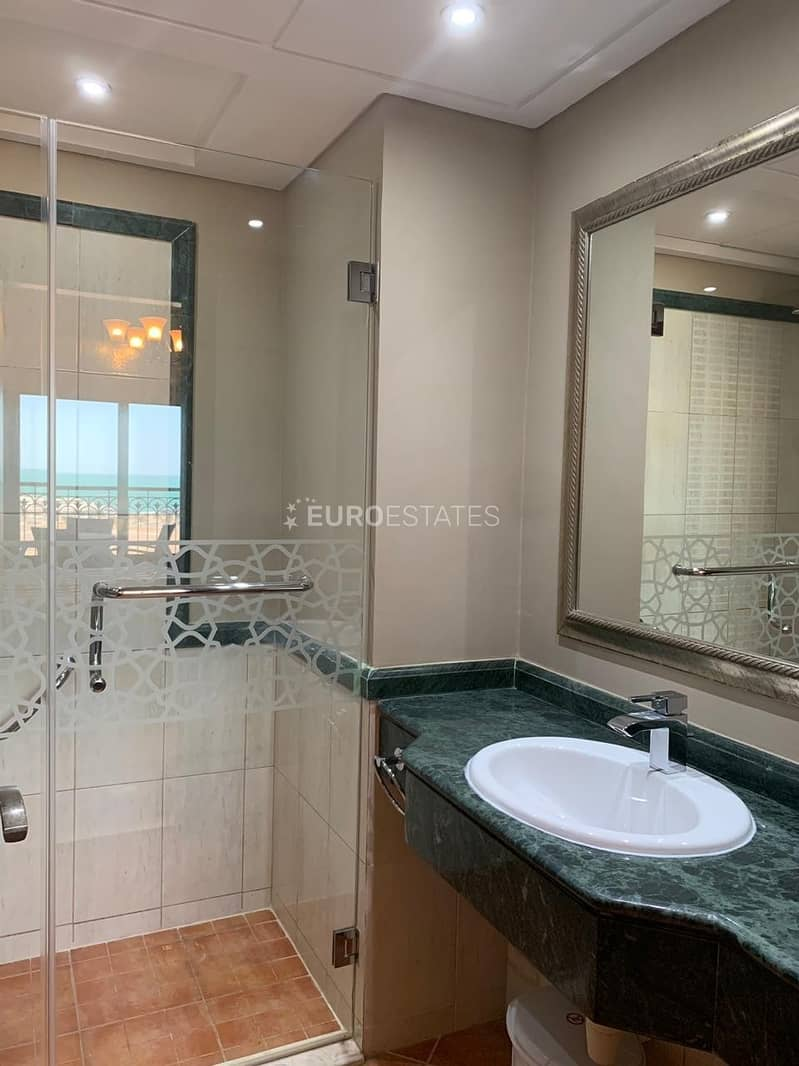 12 Open Sea View | 1BR Hotel Apartment Al Marjan Resort