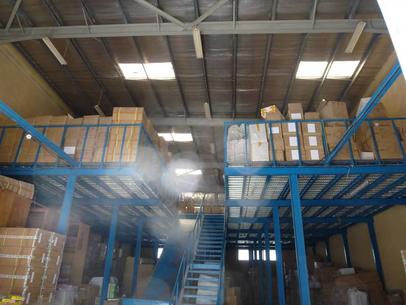 insulated and secured warehouse at industrial area 17 for sale in sharjah emirates