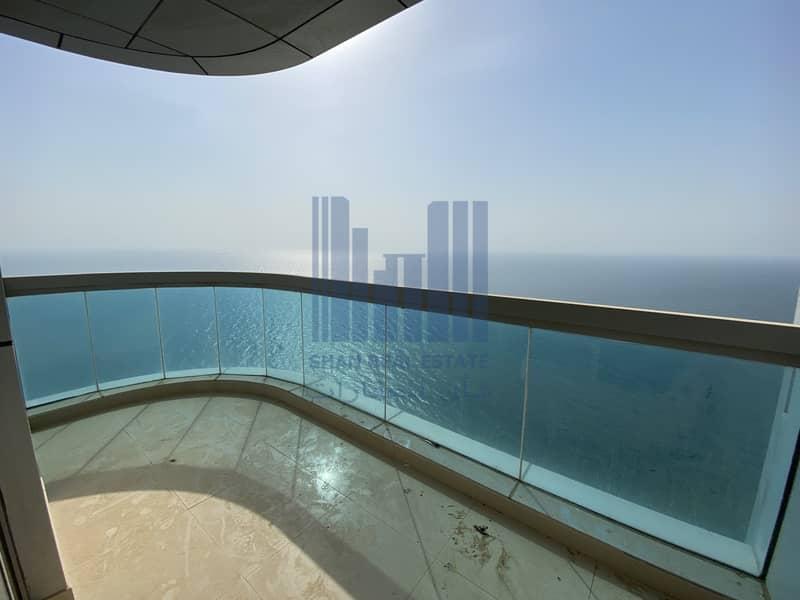 Full Sea View   Beach Front   2 Bedroom Corniche for rent