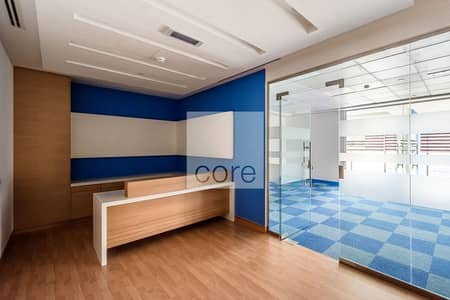 Office for Rent in DIFC, Dubai - Fitted and Partitioned | 3 Parking Spaces