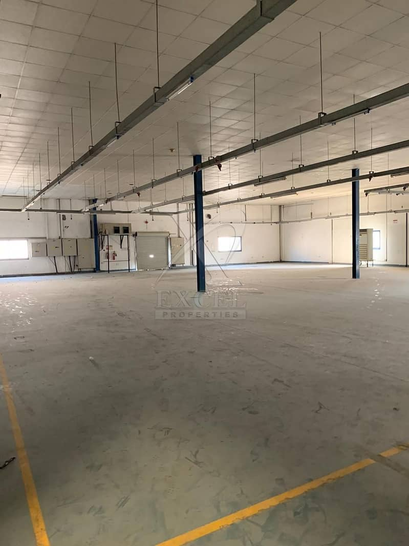 Ready Factory for Rent with Fully Fitted Offices