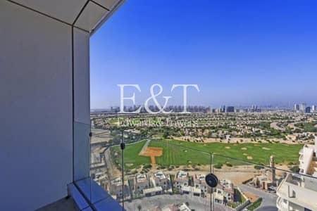 استوديو  للايجار في مدينة دبي الرياضية، دبي - Golf course Views| Vacant| As new | Chic interiors