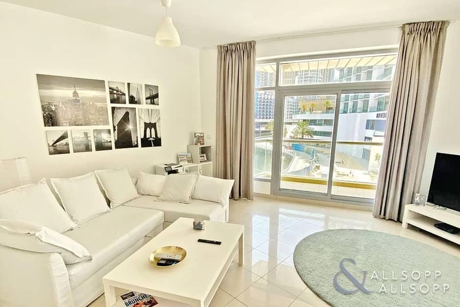 2 Marina Views | Spacious 1 Bed | Balcony