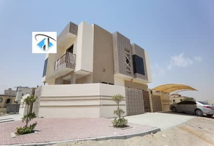 5 Bedroom Villa for Sale in Al Helio, Ajman - Villa classic Style excellent finishing  In al helio Freehold For All Nationalities.
