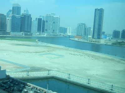 مکتب  للايجار في الخليج التجاري، دبي - Bright Well Partitioned Full Canal View Vacant