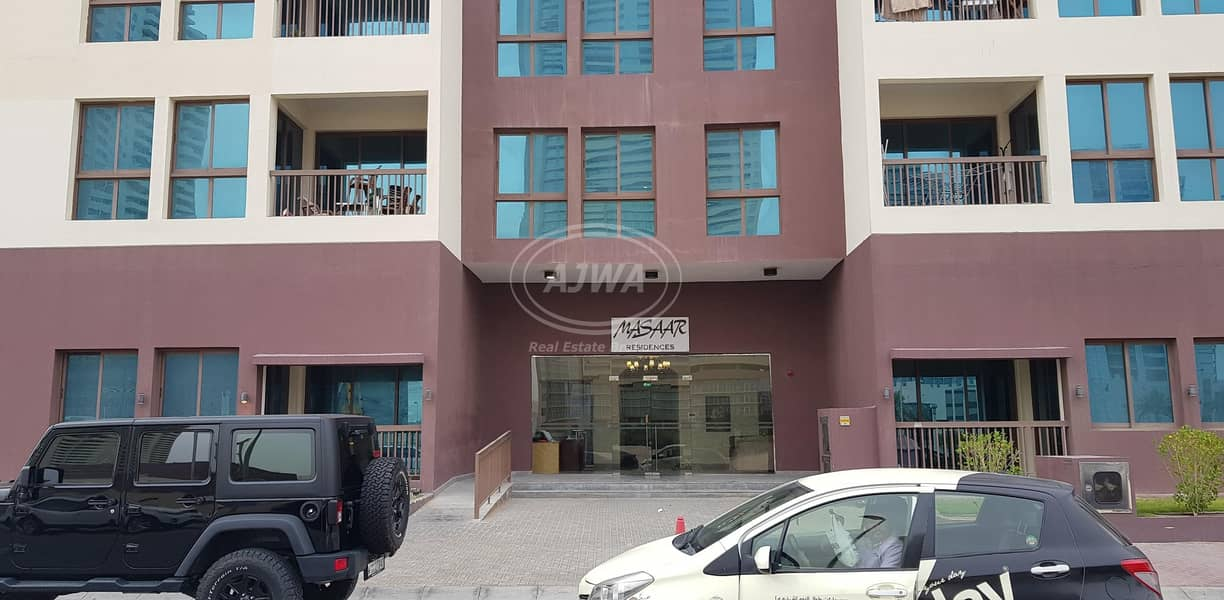 15 Studio  for rent in Masaar Residences with Balcony
