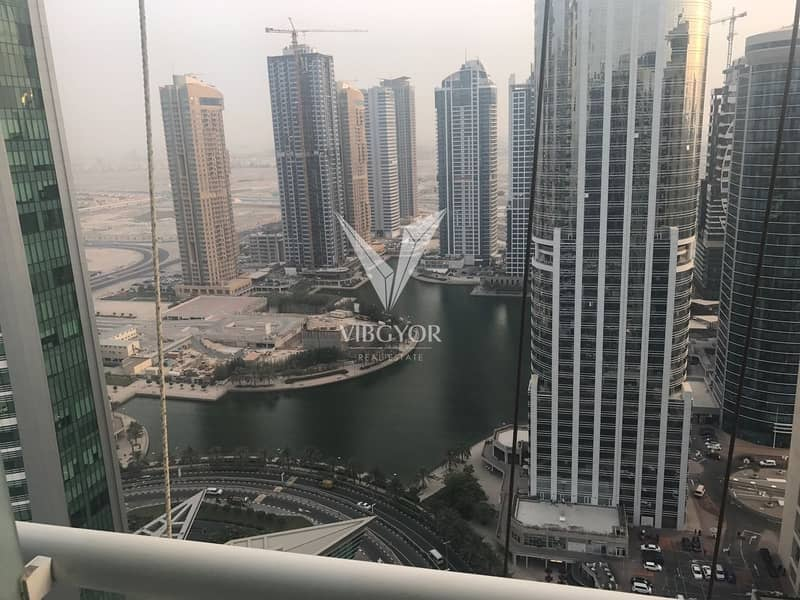 Lake View 1 Bed Apt in High Floor of Lake Terrace,JLT