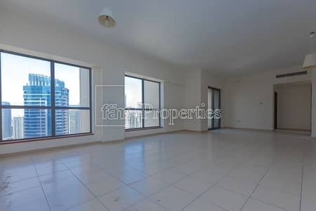 4 Bedroom Apartment for Rent in Jumeirah Beach Residence (JBR), Dubai - Sadaf 4B/R Specious apt Facing Partial Marina view
