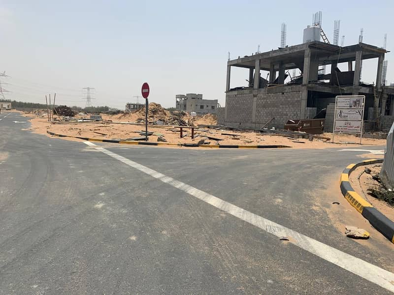 For sale residential land in Ajman freehold