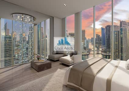 3 Bedroom Penthouse for Sale in Dubai Marina, Dubai - 3brDpx Stellar PH-Move-in 3yrPAY+ZeroDLD