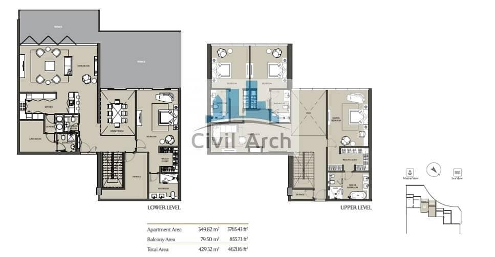 2 3br Lovely Villa-Move-in 4yrPay+ZeroDLD