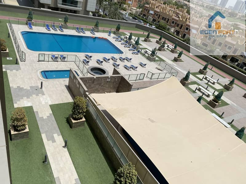 57 Pool View Fully Furnished 1 Bedroom Apartment
