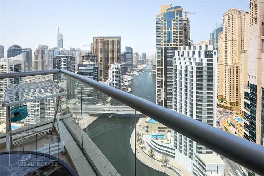 2 Bed | Full Marina View | High Floor | Rented 110k