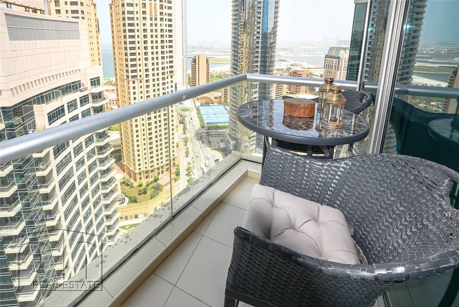2 2 Bed   Full Marina View   High Floor   Rented 110k