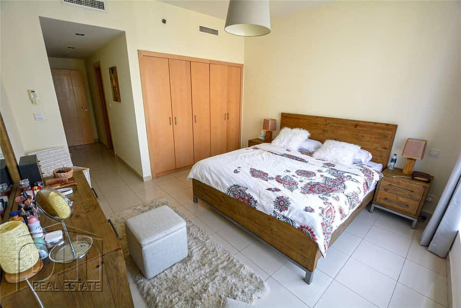 10 2 Bed | Full Marina View | High Floor | Rented 110k
