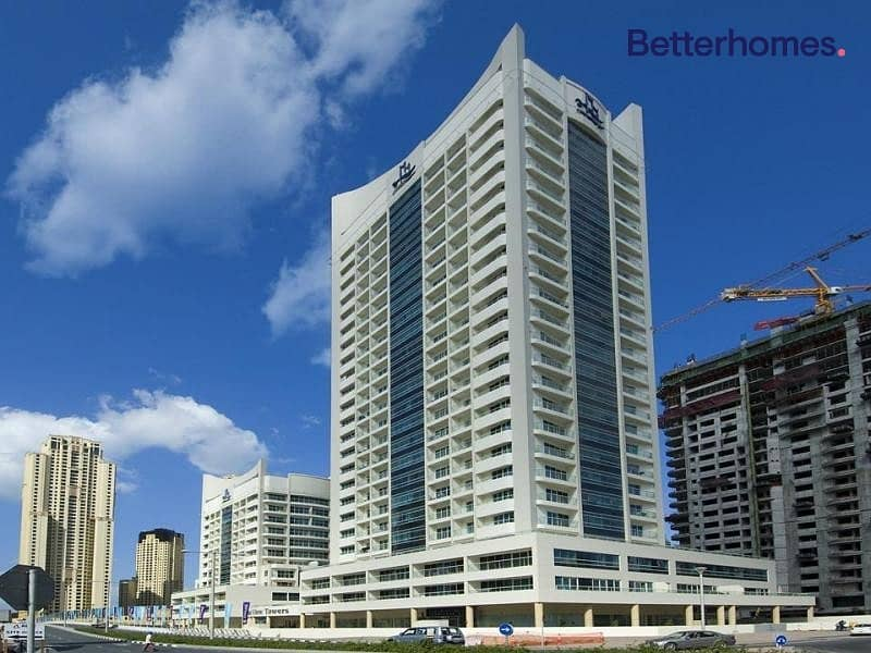 12 Furnished Studio | Marina View | Vacant Now