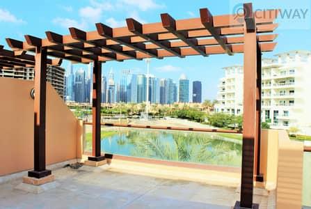 تاون هاوس 4 غرف نوم للبيع في جزر جميرا، دبي - Lake View | Brand New Townhouse | Terrace